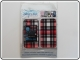 Skin Cover Iphone 3G 3GS Plaid Rosso
