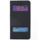 Flip Cover Samsung Galaxy Note 4 Nera Puloka ORIGINALE