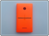 Cover Nokia Lumia 435 Cover Arancione ORIGINALE
