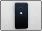 Cover Nokia Lumia 550 Cover Nera ORIGINALE